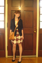 dress - Ralph Lauren blazer - purse - belt