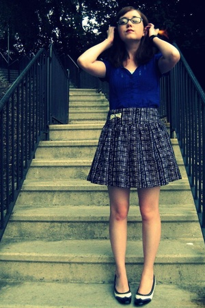 shirt - forever 21 skirt - accessories - shoes
