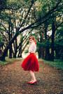 Sheinside-blouse-chicwish-skirt-choies-flats