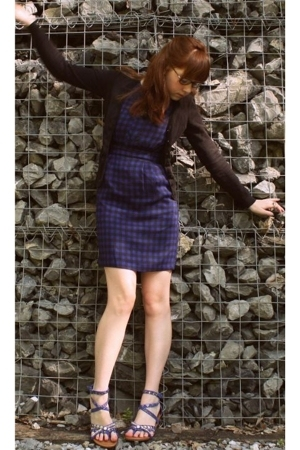 H&M sweater - asos dress - Bakers shoes