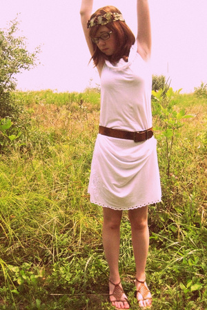 dress - belt - shoes - Whichgoose accessories