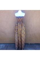 Multi Stuff African Print Maxi Dress