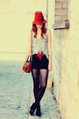 Zara-hat-cheap-monday-shorts-new-look-wedges