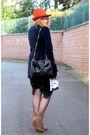 Zara-coat-zara-boots-h-m-dress-h-m-tights-zara-hat