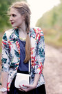 Flowers-younghungryfree-jacket-grey-asoscom-top-faux-leather-romwe-skirt