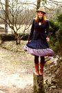 Zara-boots-zara-skirt