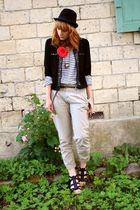 Cache Cache jacket - Zara pants - H&M shirt