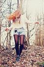 Cross-handmade-vintage-shorts-chicwish-shirt