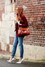 Choies-coat-h-m-jeans-persunmall-bag-persunmall-heels