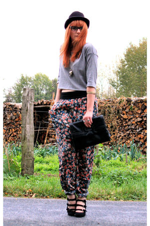 Pimkie shoes - Pimkie top - Zara pants