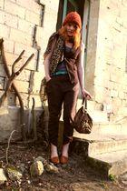 ANDRE shoes - Esprit accessories - H&M belt - H&M hat