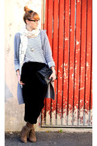 Zara pants - H&M shirt - vintage purse - H&M scarf