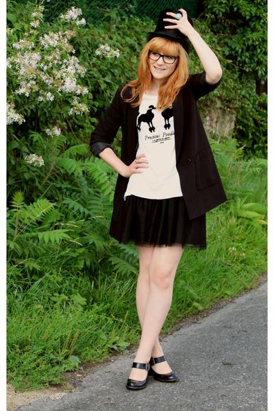 H&M t-shirt - H&M jacket - H&M skirt
