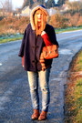 Pimkie-coat-pimkie-sweater-zara-jeans-new-look-shoes