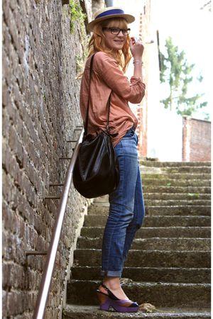H&M bag - Osmose shoes - Pimkie jeans - Zara shirt