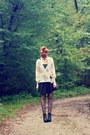 Romwe-shoes-romwe-dress-chicnova-sweater-chicnova-necklace
