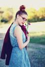 Oversized-choies-coat-crochet-awwdore-dress-romwe-bag-cats-milanoo-wedges