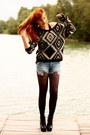 Romwe-shoes-chicwish-sweater-chicwish-shorts