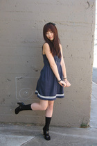Urban Outfitters dress - forever 21 - DKNY shoes