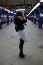 DKNY jacket - Silence  Noise shirt - Urban Outfitters leggings