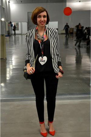 Zara shoes - Primark blazer - Primark bag - Zara pants - Zara blouse