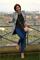 Zara boots - pull&bear jeans - Zara jacket - Zara sweater