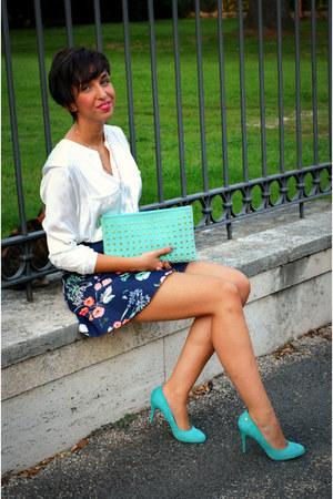Zara skirt - Zara blouse - Spartoo heels