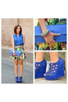 Steve Madden shoes - Primark bag - asoscom skirt - H&M blouse
