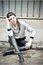 Cotton-lace-laura-ciobanu-dress-faux-leather-h-m-pants