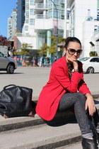 red TBabaton blazer - black Rachel Comey boots