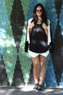 White-varsity-babaton-jacket-white-zara-shorts-black-linen-wilfred-free-top