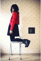 KMoss for Topshop cardigan - H&M dress - Emma Cook for Topshop shoes