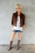 brown Ralph Lauren jacket - brown Urban Outfitters boots - white Models shirt