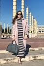 Ovs-dress-vipme-coat-michael-kors-bag-zara-heels