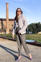 Zara sweater - Furla bag - Zara pants - Zara heels