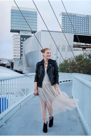 Zara dress - suiteblanco jacket - Cocinelle bag - Deichmann heels