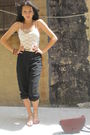 Forever21-blouse-donna-karen-pants-vintage-purse-gap-h-m-accessories-u