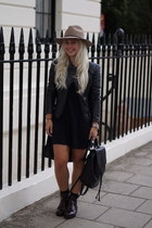 Zara boots - Topshop hat