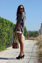 Zara bag - Massimo Dutti sweater - pull&bear heels