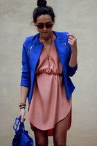 KAIF blazer - KAIF dress - Zara bag