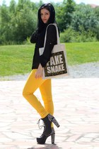 yellow Excite Clothing pants - canvas Souve bag