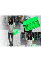 neon Cambridge Satchel Company bag