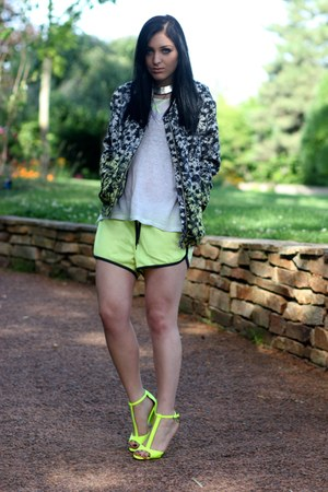 flowered H&M Trend jacket