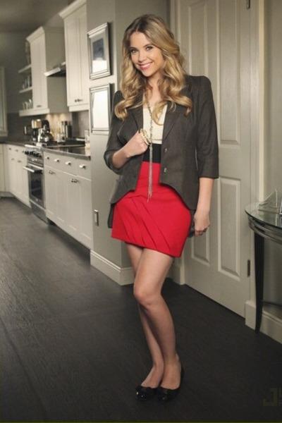 blazer - skirt