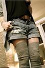 Silver-jcrew-socks-blue-currentelliott-shorts-brown-kors-boots-silver-jcre