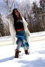 Blue-rozae-nichols-skirt-white-rebecca-taylor-sweater-silver-rebecca-taylor-