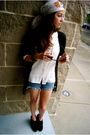 Black-paul-joe-fringed-shoes-white-shop-intuition-scarf-white-jcrew-blouse