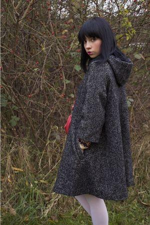 gray H&M coat