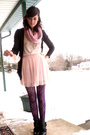 Pink-forever-21-skirt-pink-forever-21-top-gray-forever-21-cardigan-pink-ac