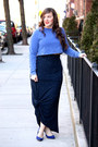 Blue-cropped-topshop-sweatshirt-navy-jersey-printed-nordstrom-skirt